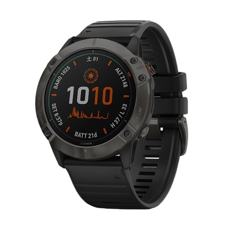 fenix 6X Pro Dual Power Ti Black DLC 010-02157-53
