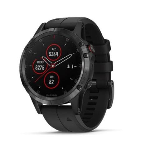 <ゼビオ> fenix 5 Plus Sapphire Black 198878(ランニング・ジョギング 腕時計)画像