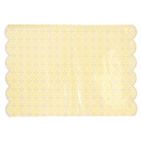 Clear Medium HAKKU Hair Iron Fujimi Industry Playing Floor Mat Yellow