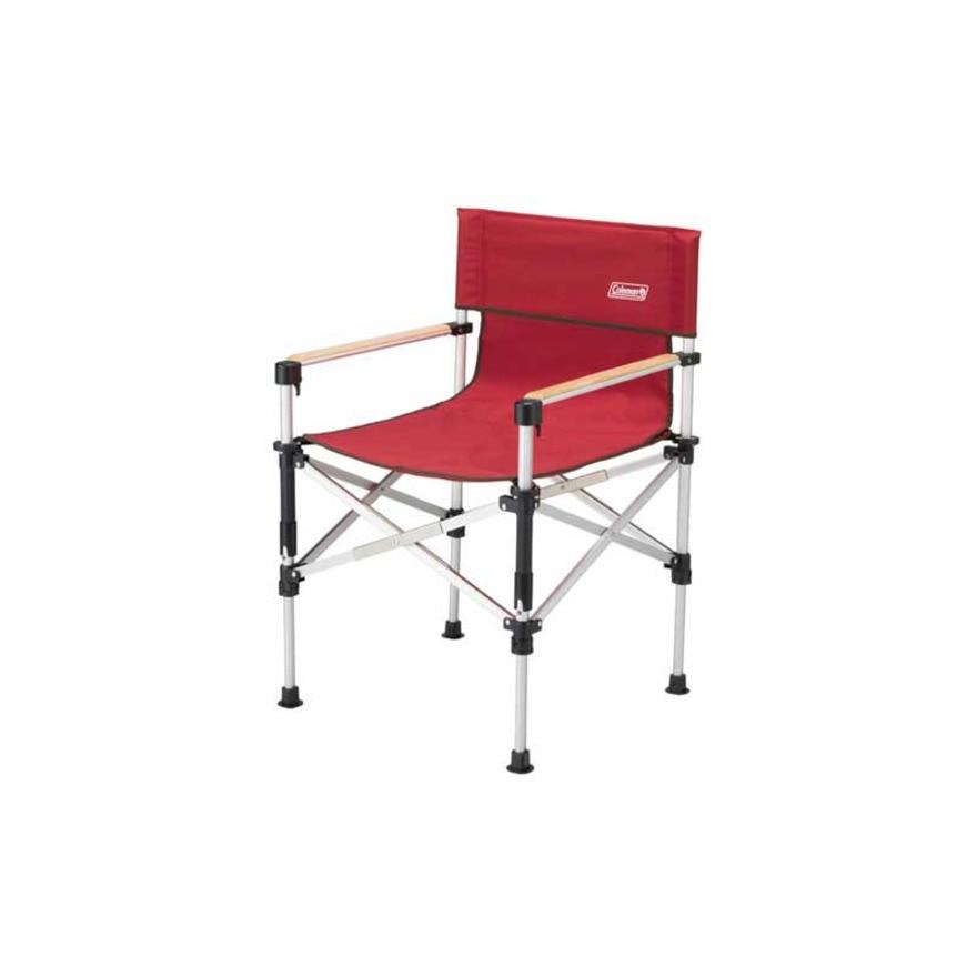 【セール実施中】【送料無料】ツーウェイキャプテンチェア 折りたたみ椅子 2000031282 レッド