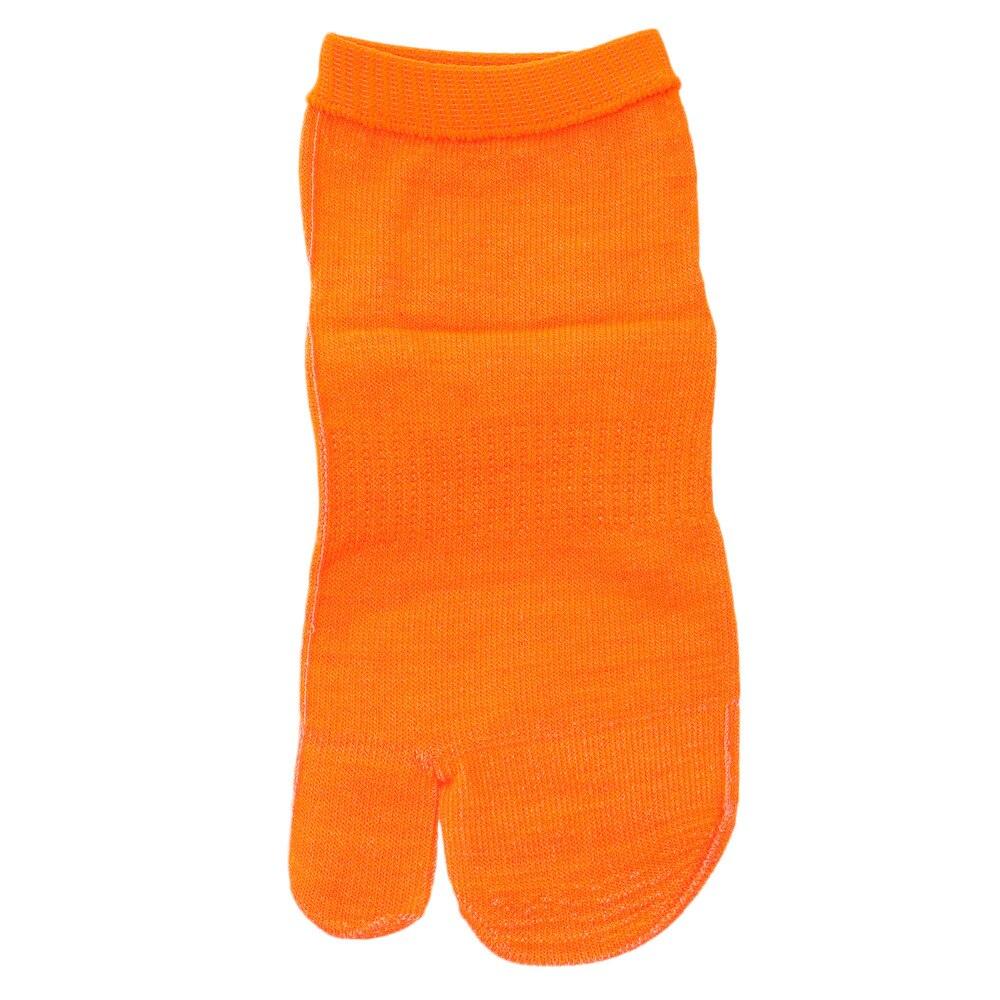 スキンソックス 足袋型 ショート丈 オレンジ S-T-SDO-S