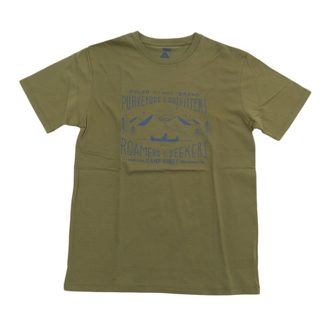 LABEL-SHIRT Tシャツ 55200031-OLV